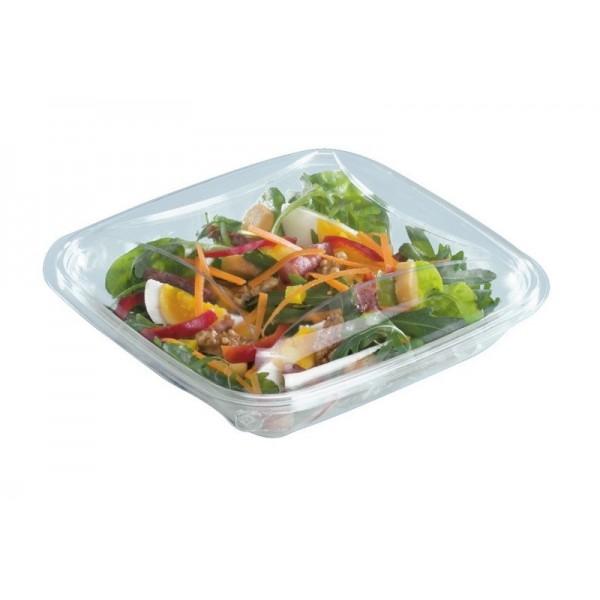 assiette plastique avec couvercle a salade 370 grs. Black Bedroom Furniture Sets. Home Design Ideas