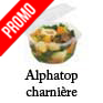 Barquette alimentaires octogonale micro ondes ALPHATOP alphaform