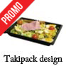 assiette jetable preparation froide takipack