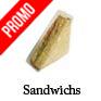 barquette sandwich triangle