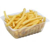 barquettes frites plastique