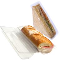 emballages boites plastique sandwich