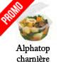Barquettes alimentaires plastique octogonale micro ondable ALPHATOP alphaform