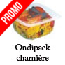 Barquette alimentaire plastique a couvercle charniere micro ondable ONDIPACK alphaform